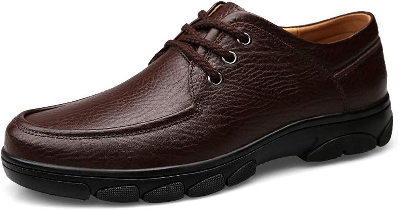 XHD - klassiska skor skor skor Män's Personliga Mode Oxford Casual Comfortable Brease Flat Heel Formala skor  populär