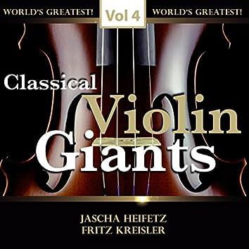 Classical Violin Giants, Vol. 4