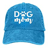 XCNGG Dog Mom Logo Sombreros de Vaquero Unisex Sombrero de Mezclilla Deportivo Gorra de béisbol de M...