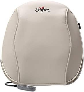 TBAN Car Massage Headrest Lumbar Support Cervical Massage Heated Neck Pillow Shoulder Waist, Deep Shiatsu Massage, Home and Office