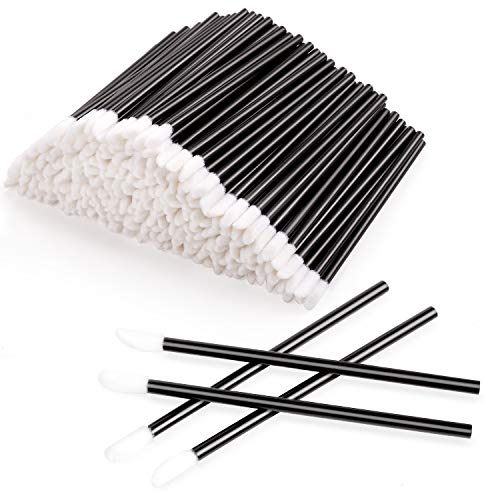 300pcs Disposable Lip Brushes Make Up Brush Lip Gloss Applicators Lipstick Wands Tool Kits Lip Gloss...