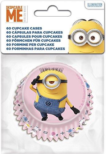 Boyztoys 60Formine per Cupcake con Decorazione a TemaMinions