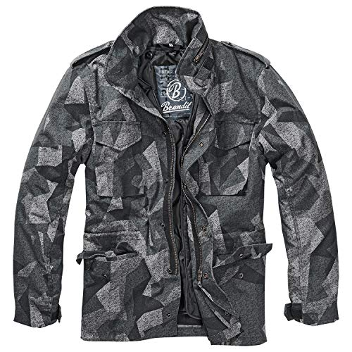 Brandit Men's M-65 Classic Jacket Night Camo Digital Size L