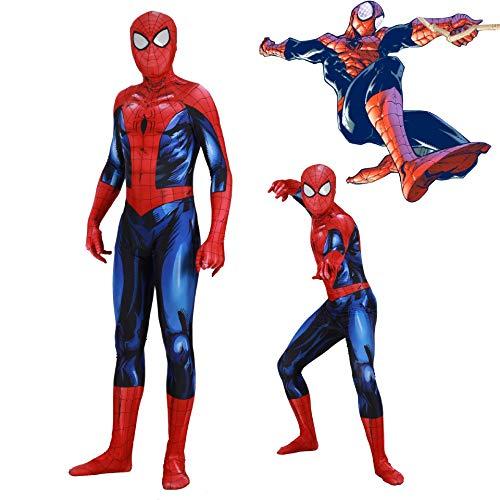 Spiderman Disfraz Disfraz PS4 Juego Spider-Man Cosplay Disfraz ...