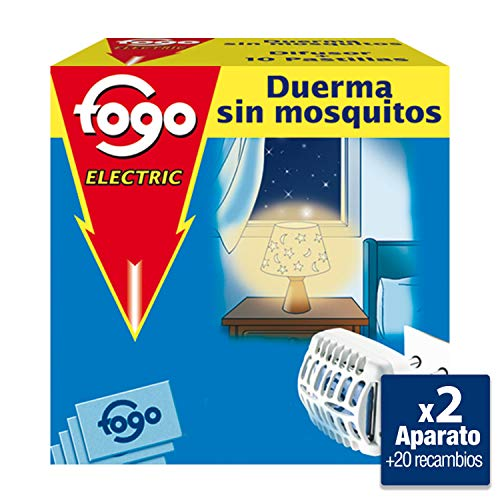 Anti-mosquitos eléctrico de pastillas Fogo