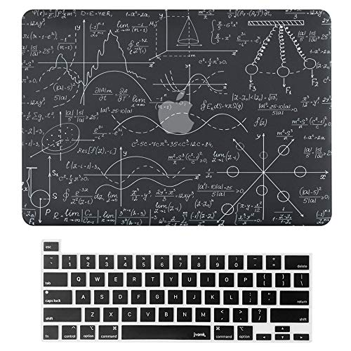 MacBook Pro 13 Zoll Hulle 2020 Release A2338 A2251 A2289 Hard Case Shell Cover Tastatur Cover mit Touch Bar und Touch ID fur Apple MacBook Pro 13 Zoll 33 cm physikalische mathematische Formel