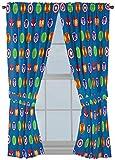 "Jay Franco 63"" Inch Marvel Super Hero Curtains"