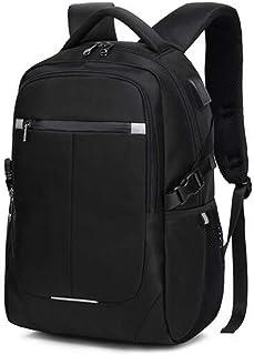 XIAJIA Backpack Sac À Dos pour Hommes Voyage Loisirs Business Computer Bag High School Student Bag Sac À Dos De Voyage, Noir