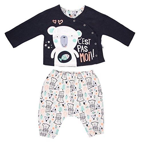 Samen baby jongens-vest dubbele dikte + Harem Baby Bear – maat – 18 maanden (86 cm)