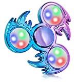 FIGROL Fidget Spinner, Fidget Toy Led Light Up Finger Toy Hand Fidget Spinner-for Kids with ADHD Anxiety Stress Reducer