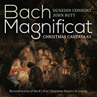 J.S. Bach: Magnificat & Christmas Cantata - SACD/CD - plays on all CD players by Dunedin Consort