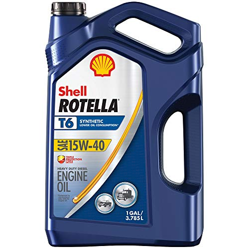 Rotella T6 Full Synthetic 15W-40 Diesel Engine Oil...