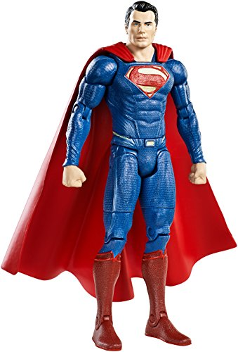 Mattel DJH15 Batman Verses Superman Movie Collector Superman Figur, 15 cm