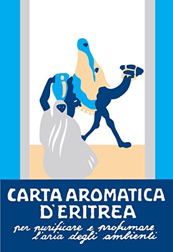 Casanova | Carta D'Eritrea Blu | Essence du Toareg | 24 Listelli Aromatici Da Bruciare | Strisce Di Incenso | Profumatori Ambiente