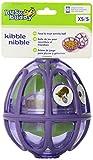 PetSafe - Jouet pour Chien Busy Buddy Kibble Nibble (S), Boule Distributrice de Nourriture et Friandises pour Petit Chien