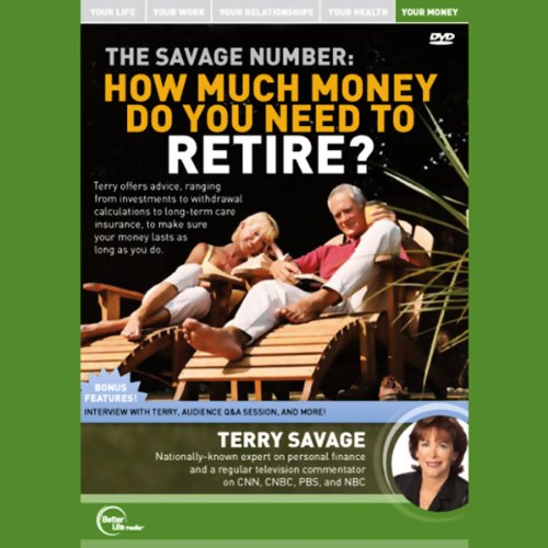 The Savage Number audiobook cover art