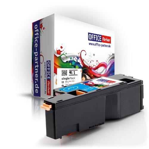 OFFICE-Partner Premium Toner kompatibel zu Dell C1660 C Cyan/blau geeignet für Dell C1660 / Dell C1660W