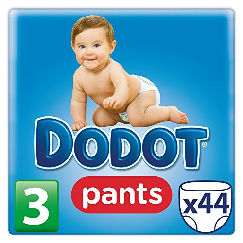 Dodot Pants - Pack de 44 pañales talla 3, 6 -11 kg