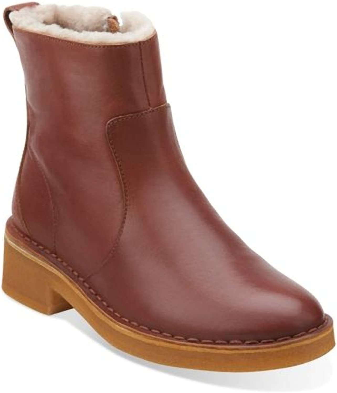 Originals Maru May Women's Tan Leather Boot 8.5 M US