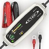 CTEK MXS 3.8 Chargeur de batterie entièrement automatique (Charge, maintient et reconditionne les batteries auto et moto) 12V, 3.8 Amp – prise EU