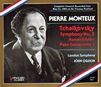 Monteux Conducts Tchaikovsky at the 1963 Vienna Festival