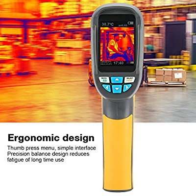 Infrared Thermal Imager, Higher Resolution HT-02 Handheld IR Thermal Imaging Camera Color Display 6060 Resolution Thermal Imager