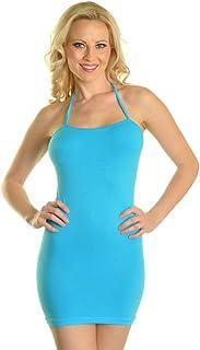 فستان قصير أساسي من Angelina بألوان نيون بدون خياطة