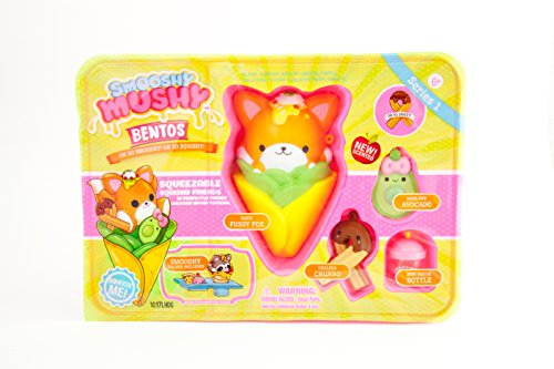 Smooshy Mushy Bento Box Fox actiefiguur