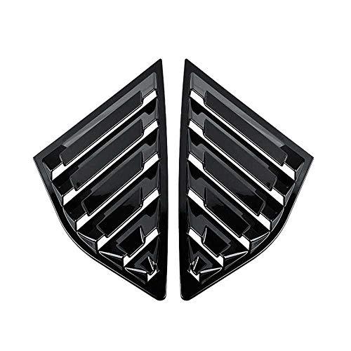 XQRYUB Accesorios de la Cubierta de la Rejilla Lateral del Coche, Negro Brillante, Apto para Ford Focus ST MK3 Hatchback 2012-2018