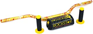 Juego de empuñaduras para manillar de motocicleta Xin de 28 mm, para moto, motocross, moto, moto, moto, moto, moto, moto, sucio y moto, RM250, RMZ250, DRZ400, RMZ450, color amarillo