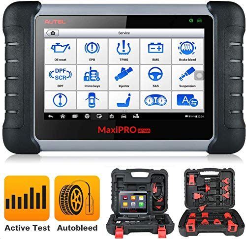 Autel MP808K Diagnostic Scan Tool with Auto Scan & 23+ Service, Bi-Directional Control, ABS Auto Bleeding, SAS, EPB, BMS, DPF, Oil, Updated Version of MP808/DS808, 2020 Newest