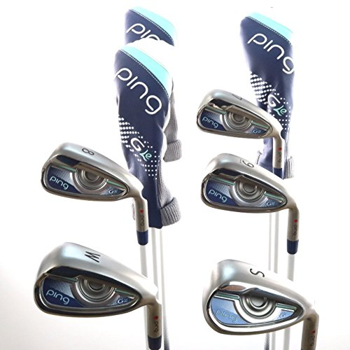 Lowest Prices! Ping Golf Women's G Le Hybrid and Iron Set, Right Hand, 4H, 5H, 6H, 7-9, Pitching & S...