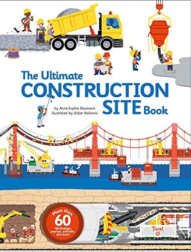 Compare Textbook Prices for The Ultimate Construction Site Book Ultimate Book 2 Ltf Pop Edition ISBN 9782848019840 by Baumann, Anne-Sophie,Balicevic, Didier