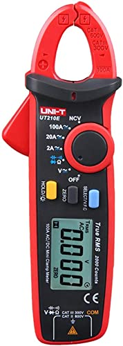 UNI-T UT210E True RMS AC/DC Current Voltage Mini Digital Clamp Meter Auto Range Resistance Capacitance Tester