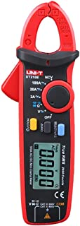 UNI-T UT210E True RMS AC/DC Current Voltage Mini Digital Clamp Meter Auto Range Resistance Capacitance Tester