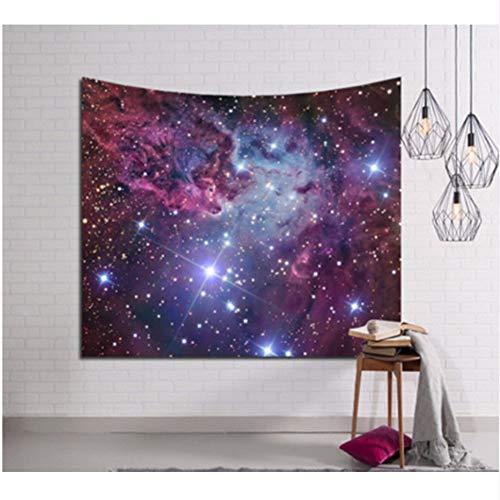 Djkaa Strandmat om op te hangen, 3D Galaxy, wandtapijt, hippie tapijt, retro, Home Yoga 200 x 150 cm