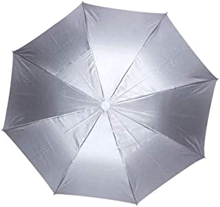 YLLN Parasols Value/Umbrella Cap/Folding/Fishing Umbrella/Sunscreen/Rain/Wind/UV/Rain/Sun/Fishing (Color : White)