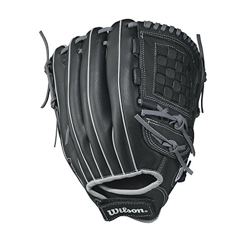 Wilson Unisex-Youth A360 11 Baseball/Softball Gloves, Black Gold