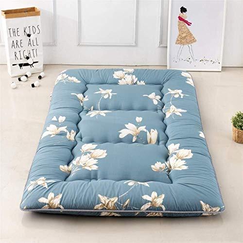 JY&WIN Sleep Mattress Topper,Thick Foldable 10cm Tatami Mattress Pad Japanese Bed roll Soft Comfort Student Dorm Floor Mat-C 180x220x10cm