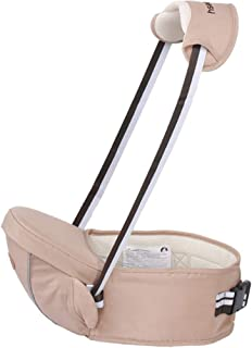 BYFI8F Breathable Baby Carrier Hipseat 2-18 Months Baby Sling Waist Stool Walkers Hold Waist Belt Kangaroo Belt Kids Infant Hip Seat