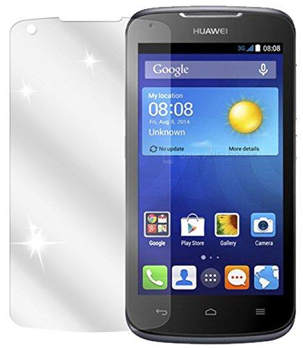 dipos I 2X Schutzfolie klar kompatibel mit Huawei Ascend Y540 Folie Bildschirmschutzfolie
