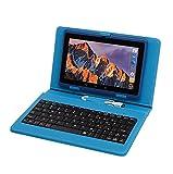 Tablet PC 7 Pouces,Tablette avec QWERTY Clavier Android Quad Core Ordinateur Portable,8Go ROM, Double Caméras, WiFi, Bluetooth, Livré avec Stylo Tactile…