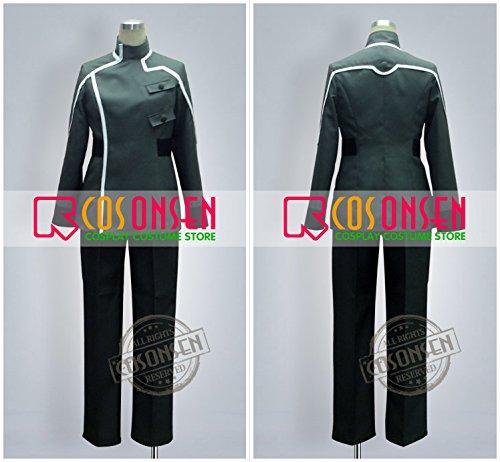 『機動戦士ガンダム00 人類革新連盟 ソーマ ピーリス コスプレ衣装 (男性M)』の2枚目の画像