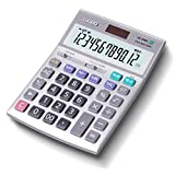 カシオ プロ仕様の決定版「本格実務電卓」 検算機能搭載 グリーン購入法適合 デスクタイプ 12桁 DS-20WK