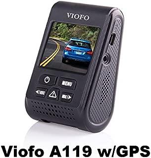 Viofo A119 1440P 30fps Car Dash Camera (V2 Model) With GPS Mount + 90 Degree miniUSB Adapter