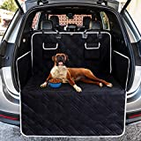 Toozey Complete Car Boot Protector for Dogs, 4 Layers Quilted & Durable Car Boot Dog Blanket with Side and...