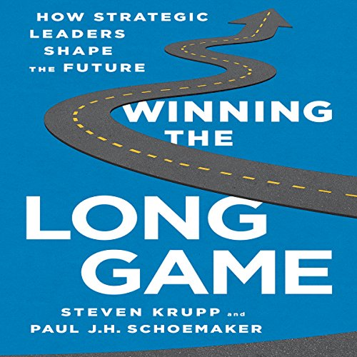 Winning the Long Game audiobook cover art