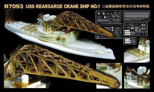 1/700 WWII U.S. Navy crane ship AB-1 Kiasaji (R7093) (japan import)
