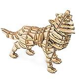 Rolife Puzzle in Legno 3D con Modelli di Taglio Laser per l'artigianato degli Animali Asse...