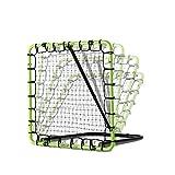 EXIT Fußball Rebounder Tempo - 120x120cm - Grün/Schwarz - Fußball Trainingszubehör - Verstellbar